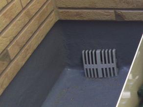 新築一戸建てバルコニー排水口