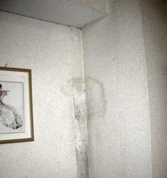 壁のシミ2